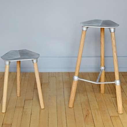 Sam Lloyd - sand-cast stools