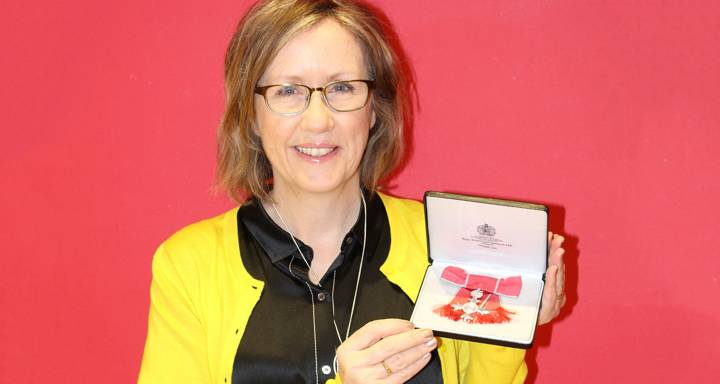 Leading stroke rehabilitation researcher at Kingston University and St George's, University of London receives Queen's Birthday Honours MBE at Buckingham Palace