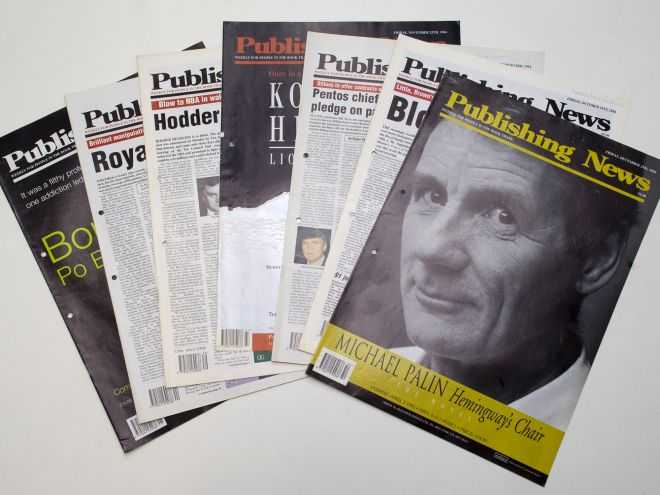 Publishing News magazine archive