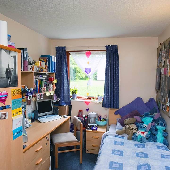 Room in halls