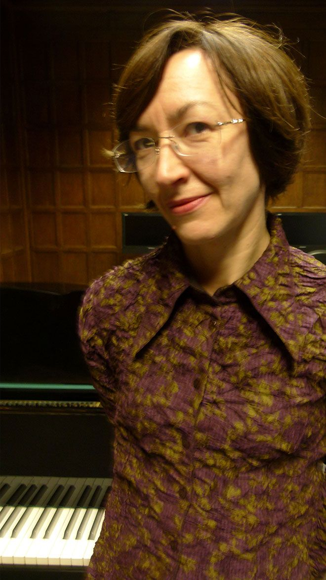 French music expert Dr Caroline Potter is regarded as a prominent authority on Henri Dutilleux.