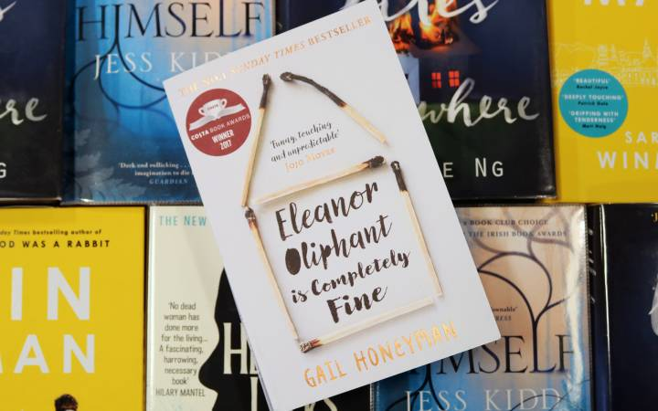 Sunday Times bestseller Eleanor Oliphant is Completely Fine named as this year's Kingston University's Big Read