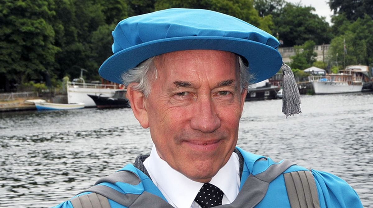 Luminary of film and theatre Simon Callow awarded Kingston University honorary degree