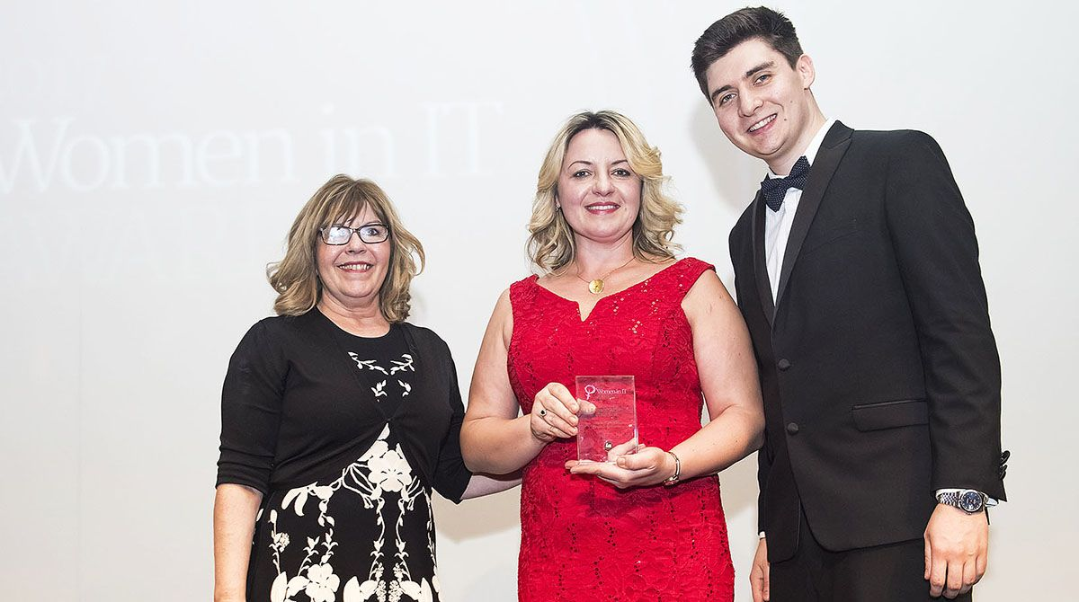 Associate professor from Kingston Business School scoops Information Age magazine's Women in IT award for widening access to cyber security careers