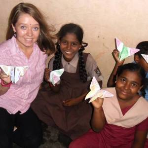 Postgraduate student volunteer shares experiences of Lebara Foundation visit to India