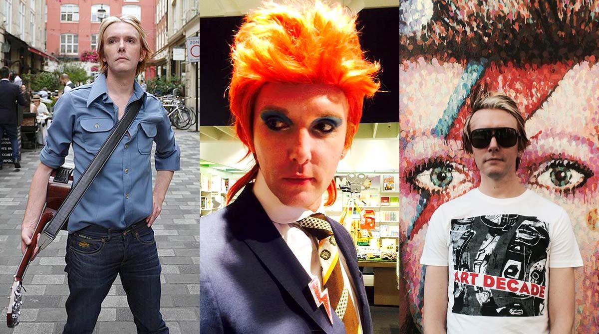 Kingston University professor Will Brooker transforms himself into pop icon David Bowie for year-long study of music legend