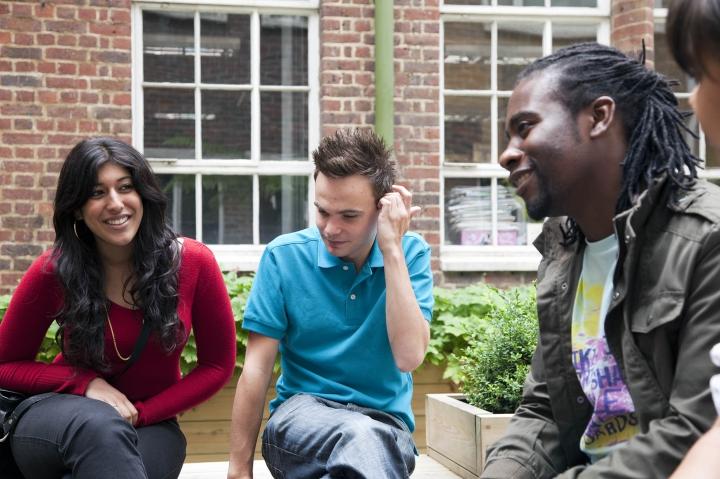 Postgraduate students at Kingston University