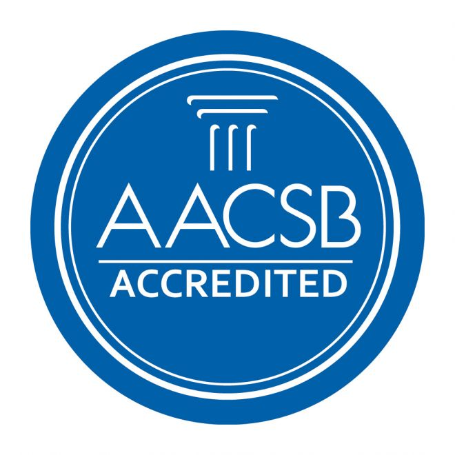 Kingston Business School has been awarded AACSB accreditation