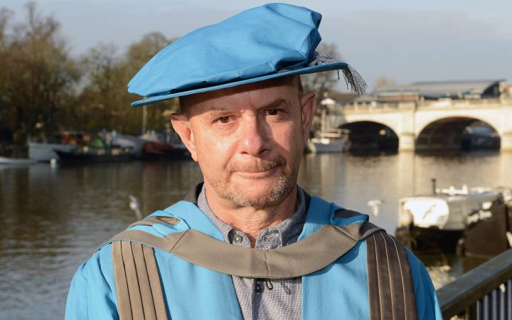 Best-selling author and Oscar-nominated screenwriter Nick Hornby named Honorary Doctor of Arts by Kingston University