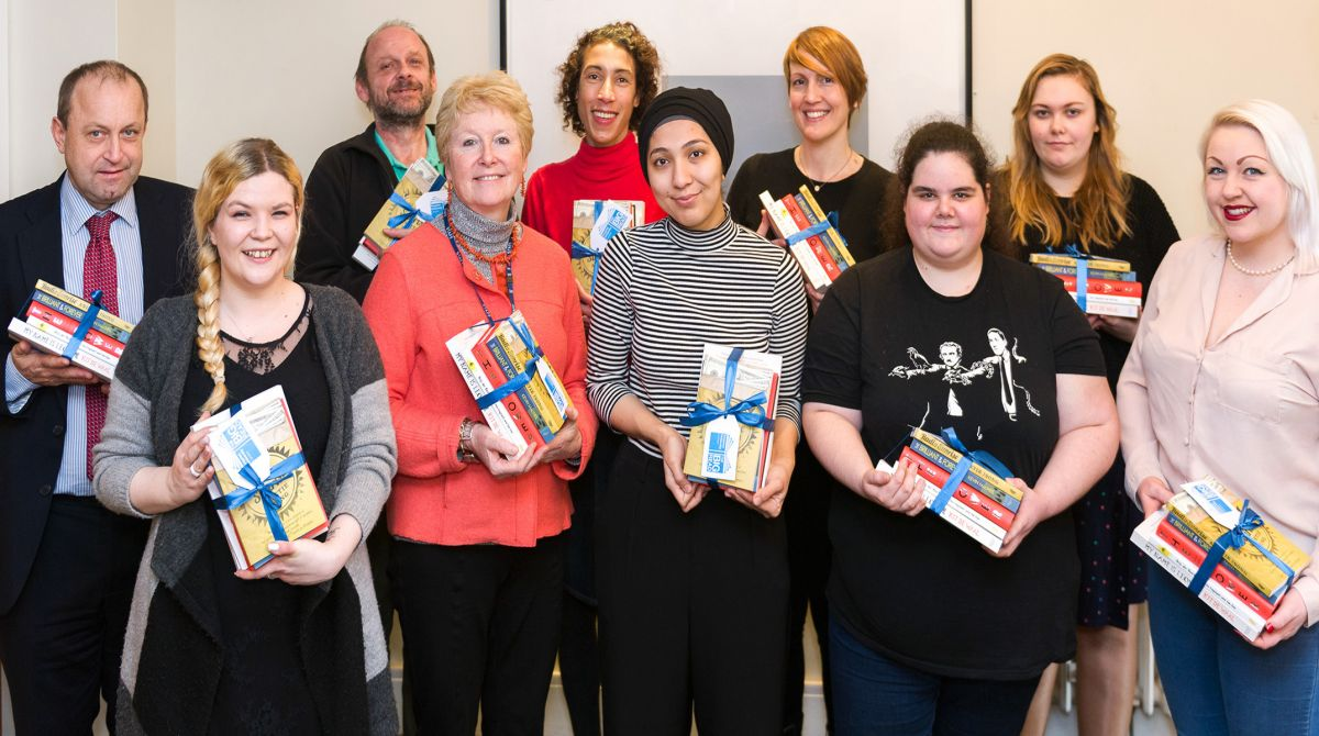 Kingston University begins new chapter in Big Read project as it announces novels selected for 2017 shortlist