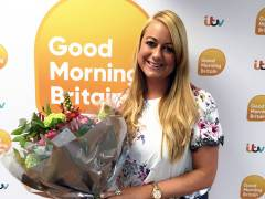 Kingston University-trained midwife receives ITV's Good Morning Britain award for outstanding work helping bereaved families