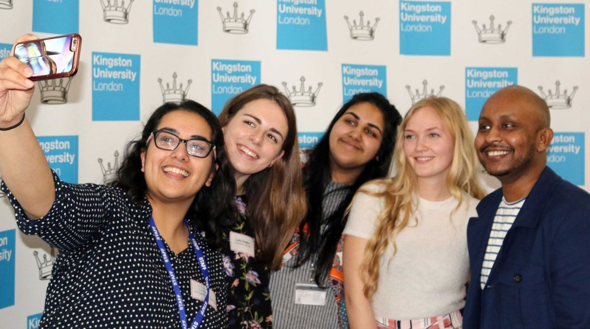 Kingston University celebrates partnership with Santander Universities with showcase of successful projects