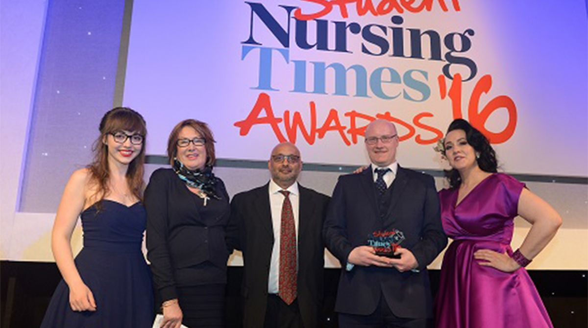 Novel approach using drama to train mental health nurses sees Kingston University and St George's, University of London scoop Student Nursing Times Award