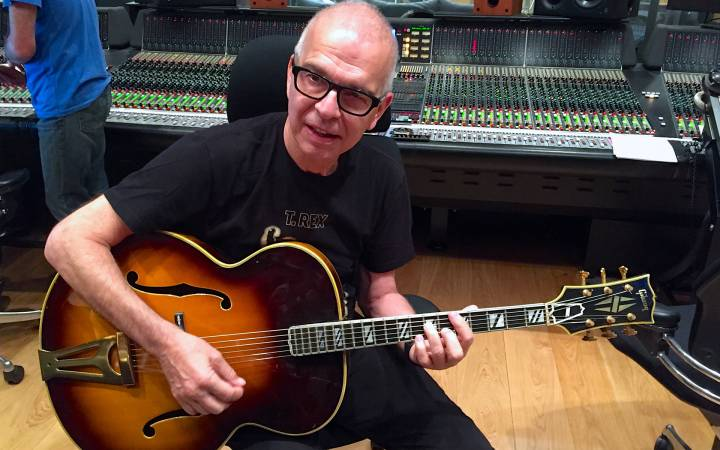 Iconic music producer Tony Visconti opens analogue recording studio at Kingston University as part of teaching and research collaboration