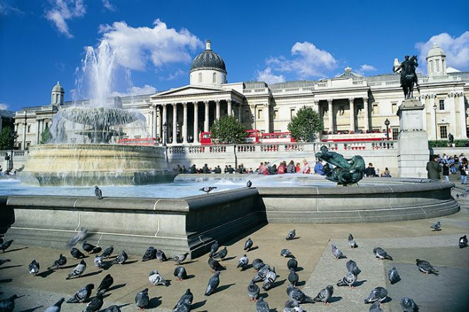 National Gallery and Trafalgar Square