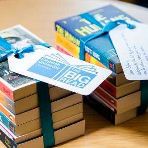 The Humans by author Matt Haig chosen to be focus of this year's Kingston University Big Read project for new students