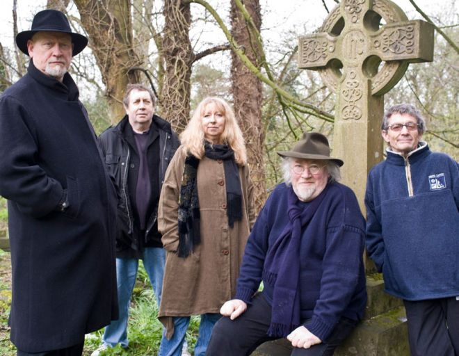 John Renbourn with the reformed Pentangle in 2008