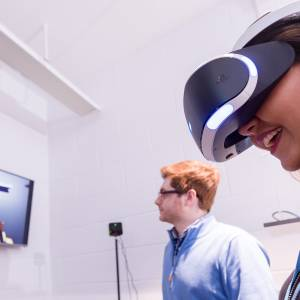 Sophisticated virtual reality centre puts Kingston University students at forefront of computer games design
