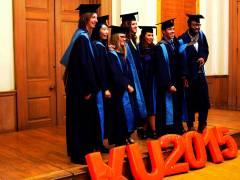 Kingston University graduates share their stories of summer 2015 graduation ceremonies
