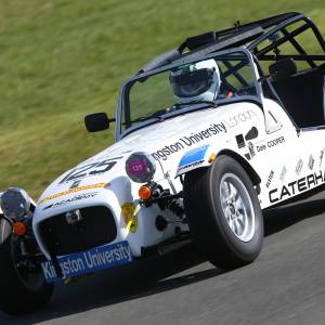 Kingston University engineering students build racing car to compete at Caterham Academy Championships