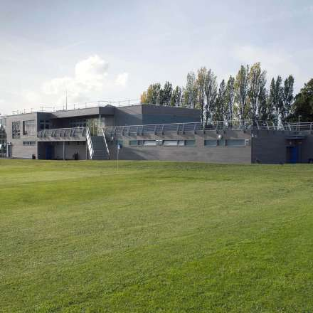 A view of Tolworth Sports Ground