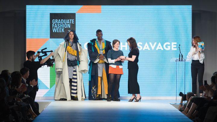 Fashion BA(Hons) show at Graduate Fashion Week 2017