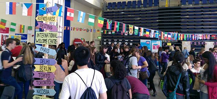 International Arrivals and Orientation