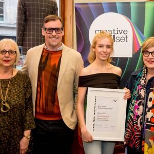 Kingston University fashion student wins Creative Skillset Anne Tyrrell Student Design Award