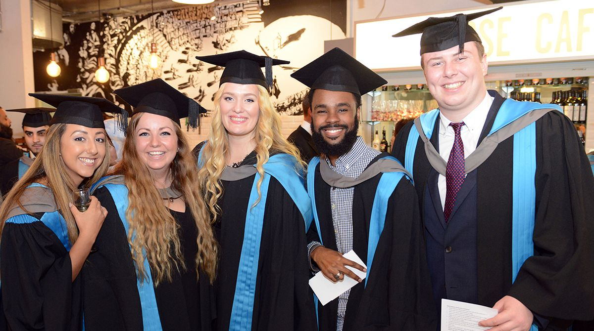 Exceptional achievements of hundreds of students applauded at Kingston University graduation ceremonies