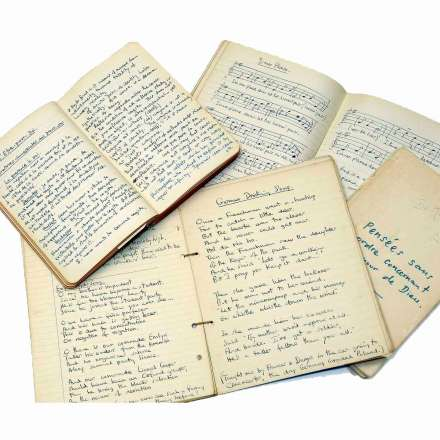 Iris Murdoch notebooks