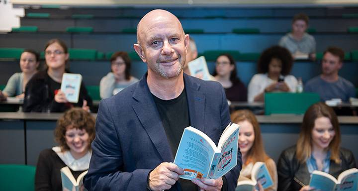 About a Boy author Nick Hornby visits Kingston University as part of inaugural Big Read project