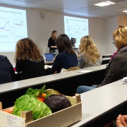 Talk by Met Office on climate change and food security