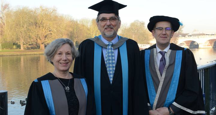Kingston University pays tribute to alumnus and architect of London Eye, David Marks