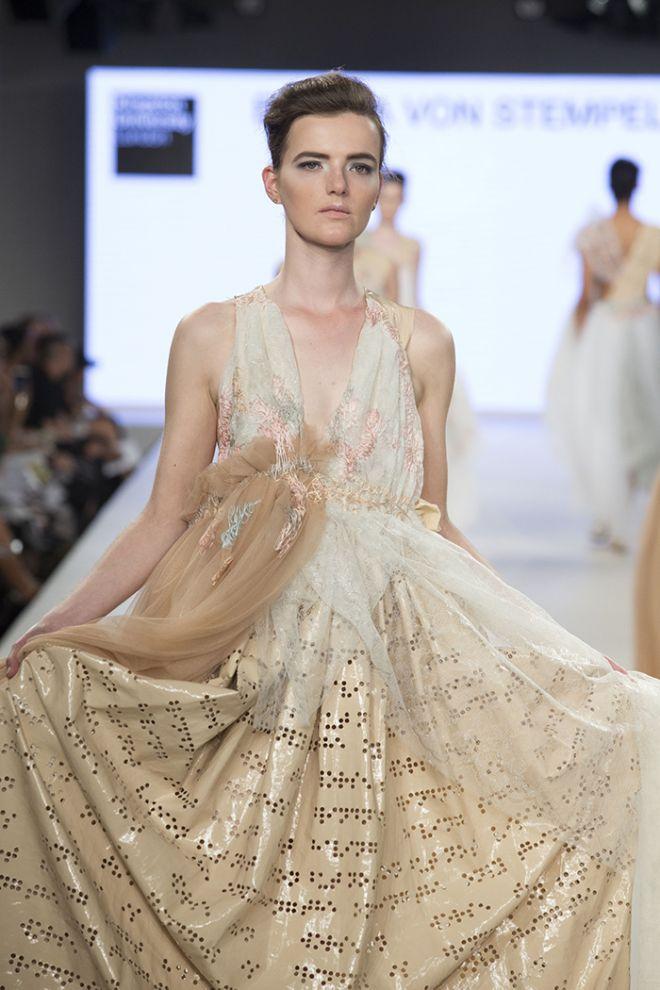 One of Bianca Von Stempel's brail inspired dresses