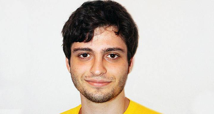 Economics student credits Clearing at Kingston University with leading him in a new direction
