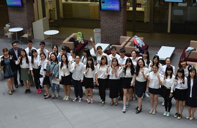 Danji students