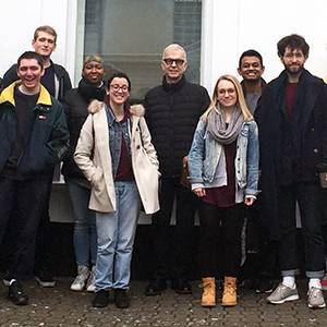 Legendary music producer Tony Visconti shares tips on getting the best out of artists like David Bowie and Marc Bolan as he takes over lectures at Kingston University
