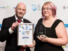 Inspirational Kingston University postgraduate student and educator picks up top honour at Social Worker of the Year Awards