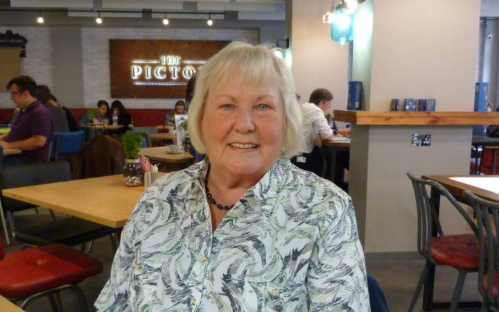 Kingston University's 80-year-old postgraduate grandmother embraces student life and relishes being part of latest MA Creative Writing class