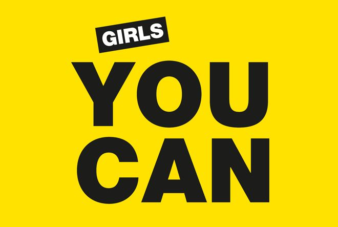 Girls you can logo