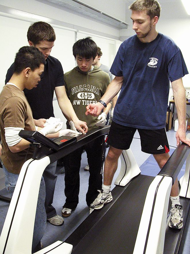 Sports science degree courses at Kingston University received a 100 per cent student satisfaction rating in this year's National Student Survey.