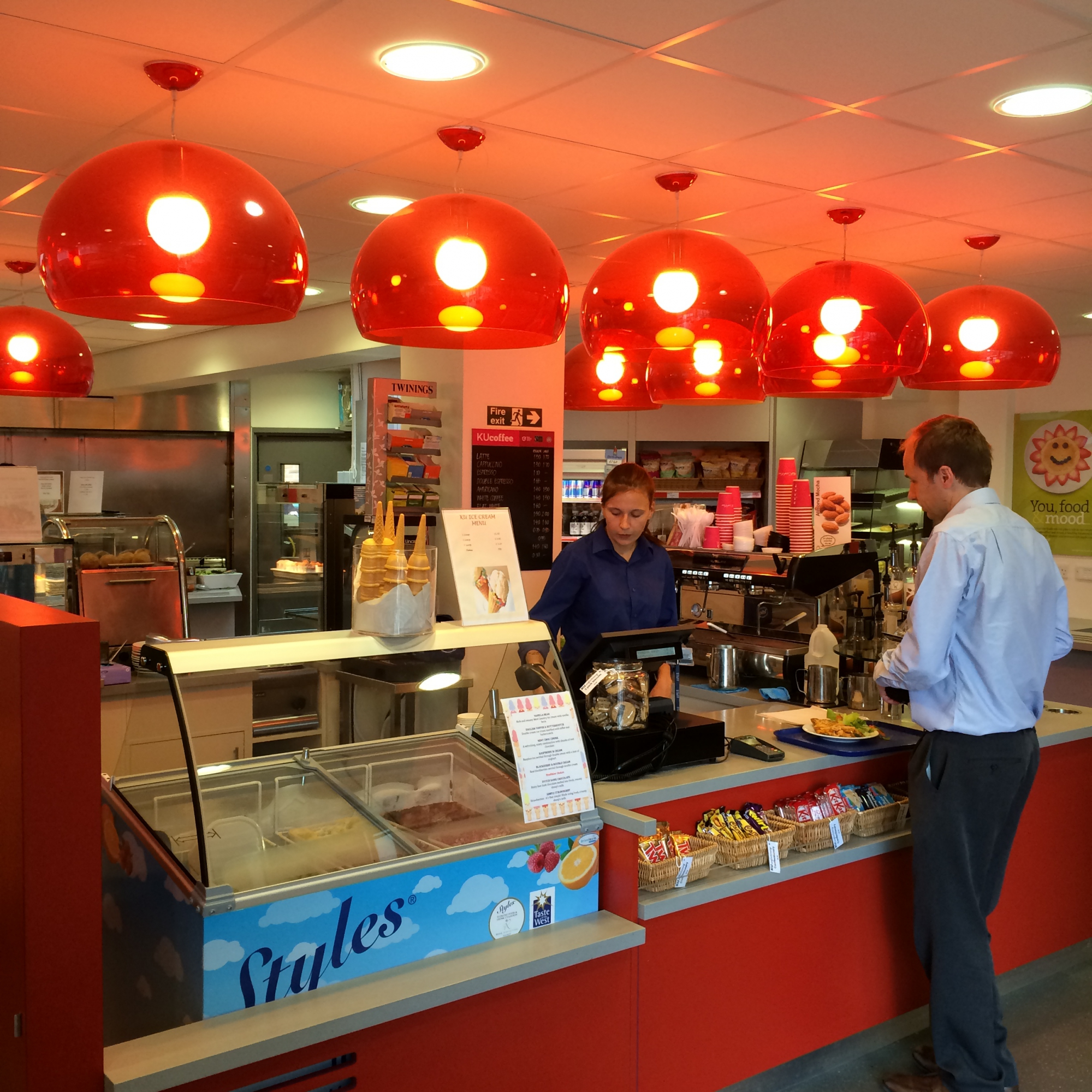 The foodstore at Kingston Hill campus