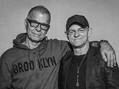 An evening with Tony Visconti and Woody Woodmansey