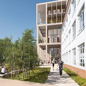Team from Grafton Architects outlines ways new Town House building will transform Kingston University's learning landscape