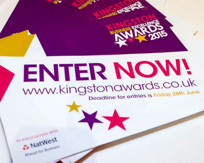 Kingston Business Excellence award tickets