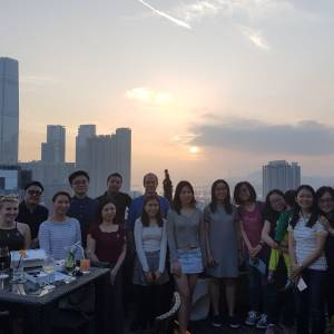 Kingston University's Alumni team hosted a relaxed drinks reception in Hong Kong