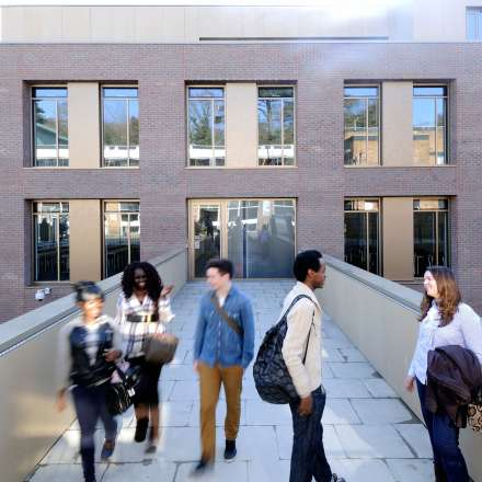 Business School building at Kingston Hill campus