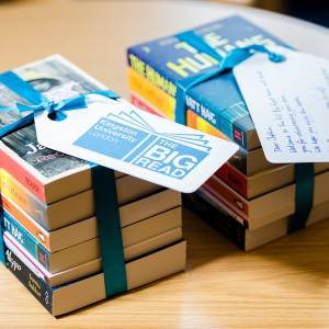 Kingston University joins forces with Edinburgh Napier to take the Big Read to new students across the Scottish border