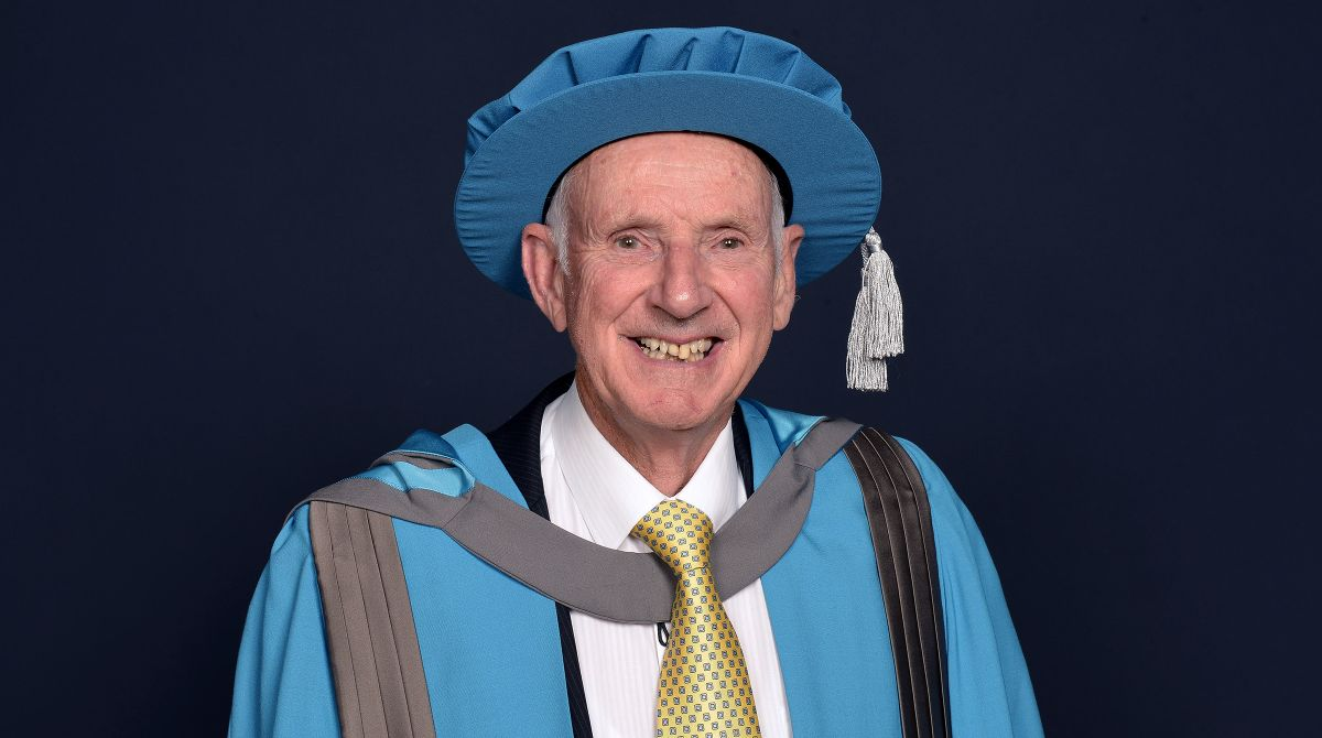 Kingston University names businessman Colin Squire, chairman of award-winning firm Squire's Garden Centres, Honorary Doctor of Art and Design