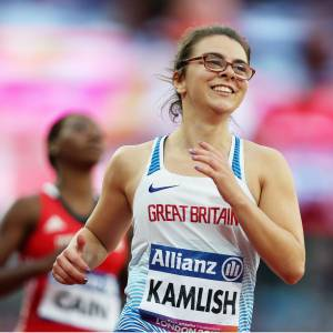 Kingston University student Sophie Kamlish sets new world record and wins T44 100m gold medal at World Para Athletics Championships